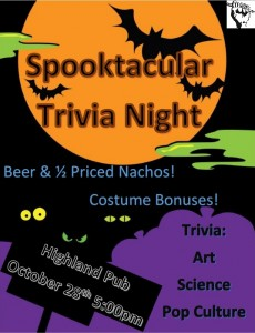 Spooktacular Trivia Night Moon